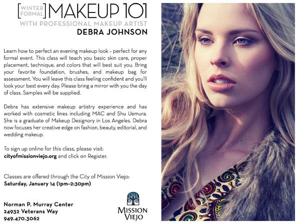 winter formal makeup 101 debra johnson makeup artist